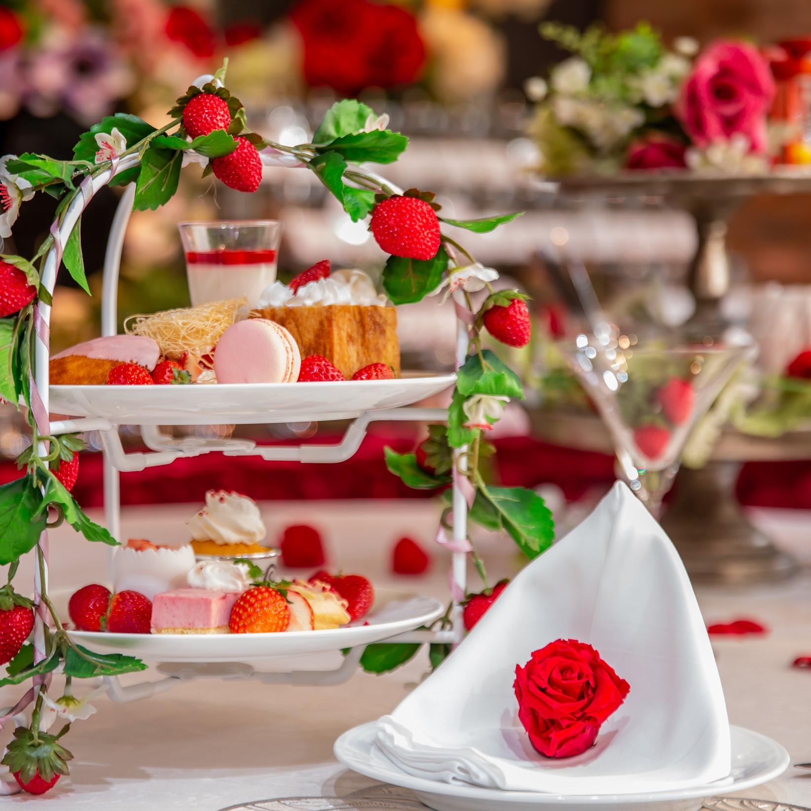 ◆苺とスイーツの饗宴~優雅なアフタヌーンティーのご案内~◆
